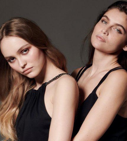 Лили-Роуз Депп и Летиция Каста снялись вместе для обложки французского глянца-430x480