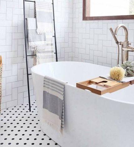 Внимание на детали: стильные идеи для ванной комнаты-430x480