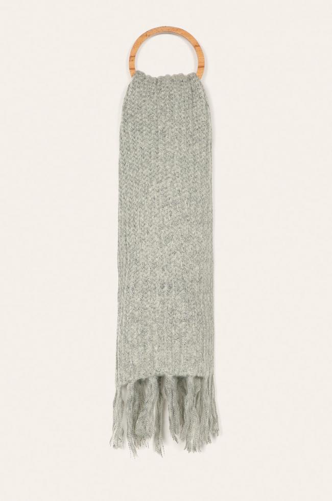 Теплый шарф: расставляем модный акцент в зимнем образе-Фото 11