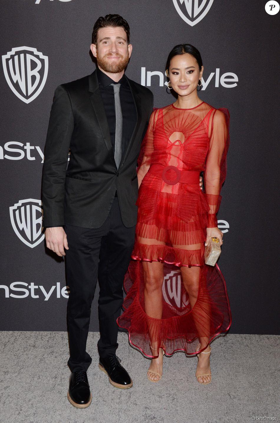 Джейми Чанг выбрала платье от украинского дизайнера на Golden Globes afterparty-Фото 2