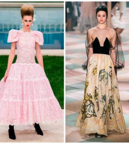Самые запоминающиеся платья с Недели высокой моды в Париже-430x480