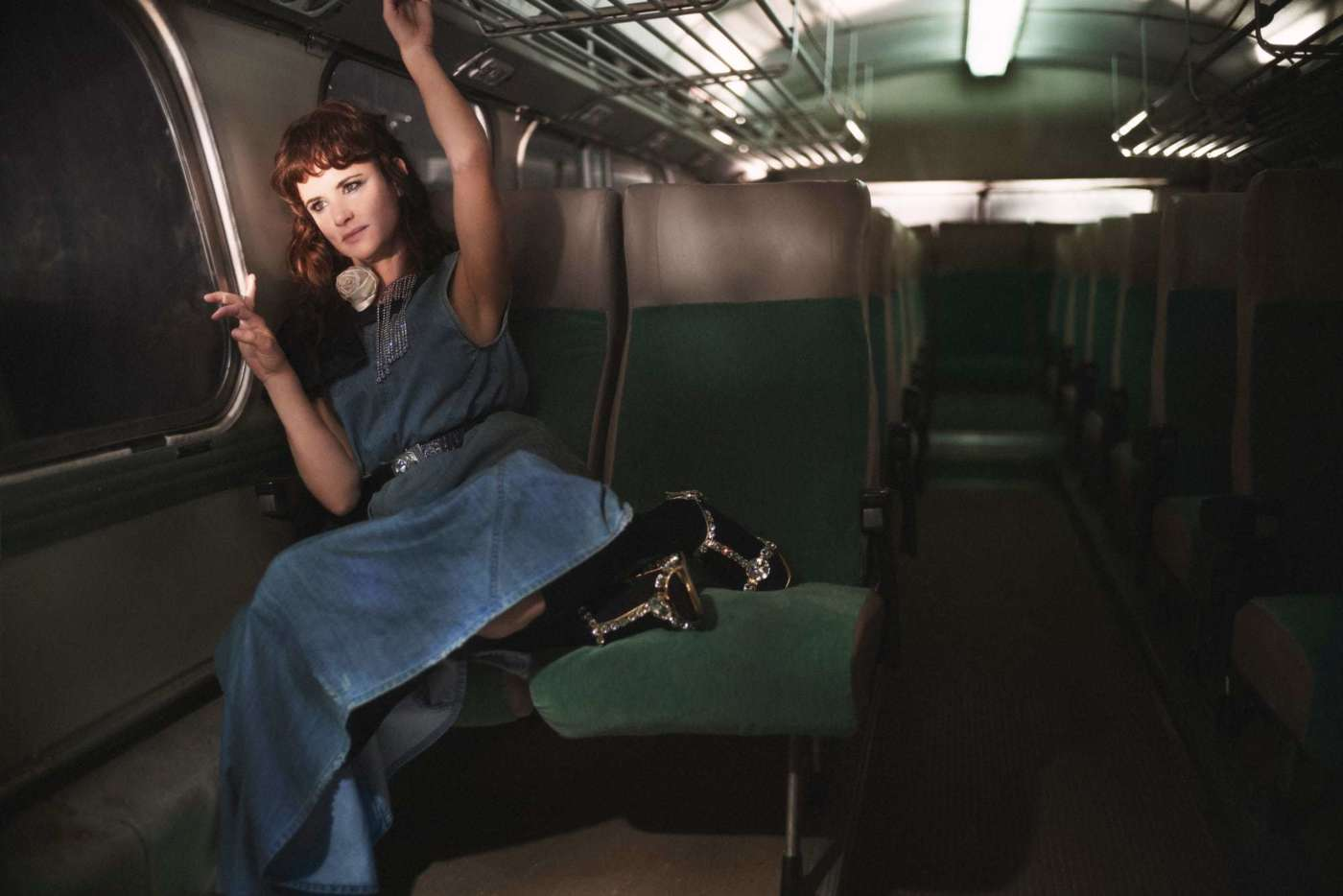 Дочери Мадонны и Умы Турман снялись в рекламной кампании Miu Miu-Фото 6
