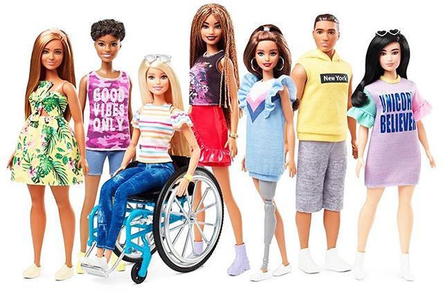 Новая Барби: В продажу поступили куклы на инвалидном кресле и с протезом ноги-Фото 1