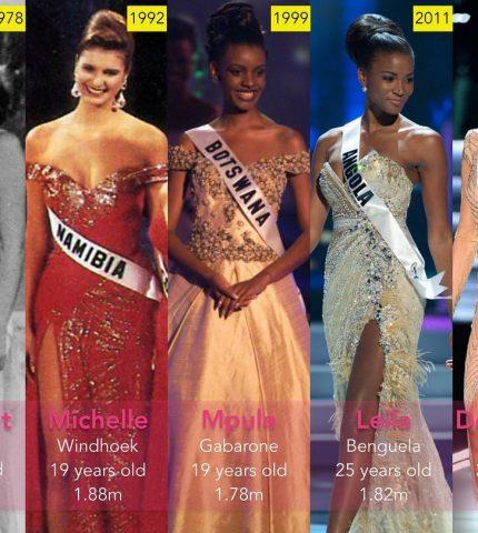 Узнайте, кто стал Мисс Вселенная в год вашего рождения-430x480