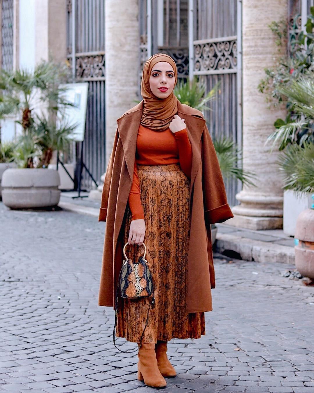 10 арабских блогеров демонстрируют как совмещать моду с религией-Фото 9