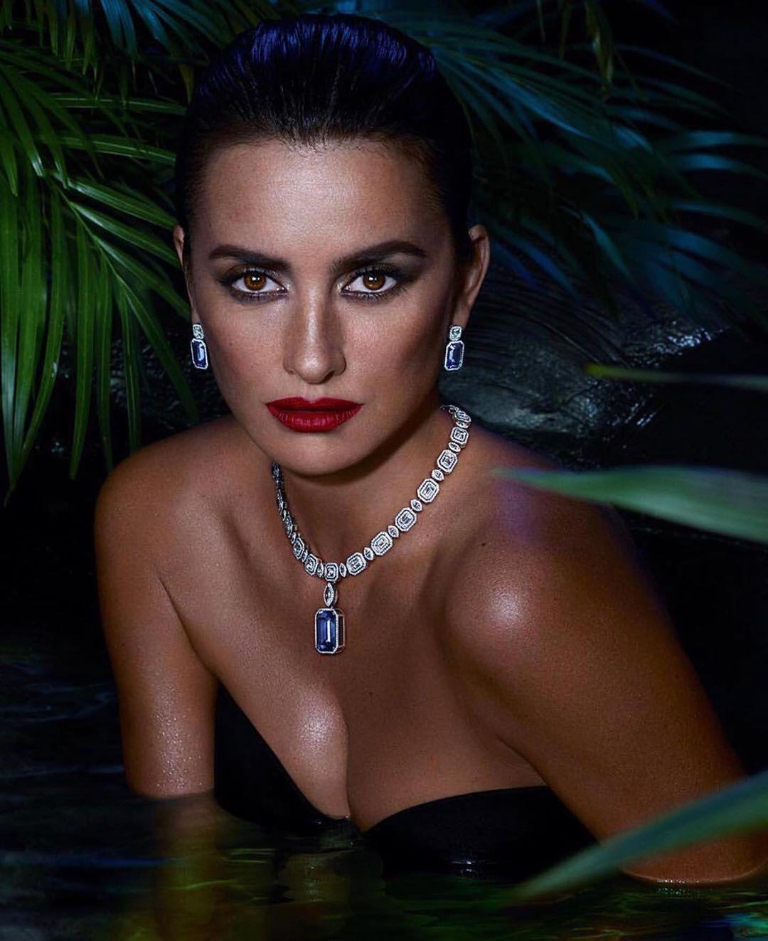 Пенелопа Крус в рекламной кампании ювелирных украшений-Фото 2