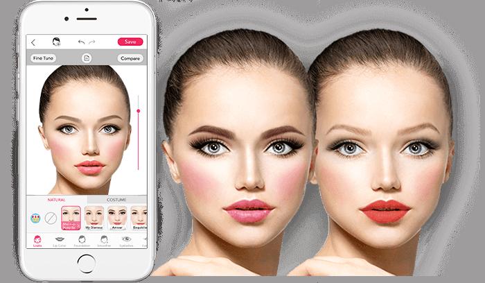 YouCam Makeup фото