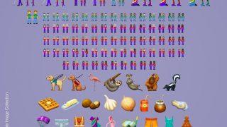 Зевающее лицо, фламинго и другие: 55 новых эмоджи будут доступны пользователям iOS-320x180