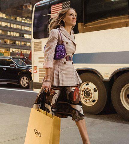 Сара Джессика Паркер продемонстрировала любимую сумку Кэрри Брэдшоу-430x480