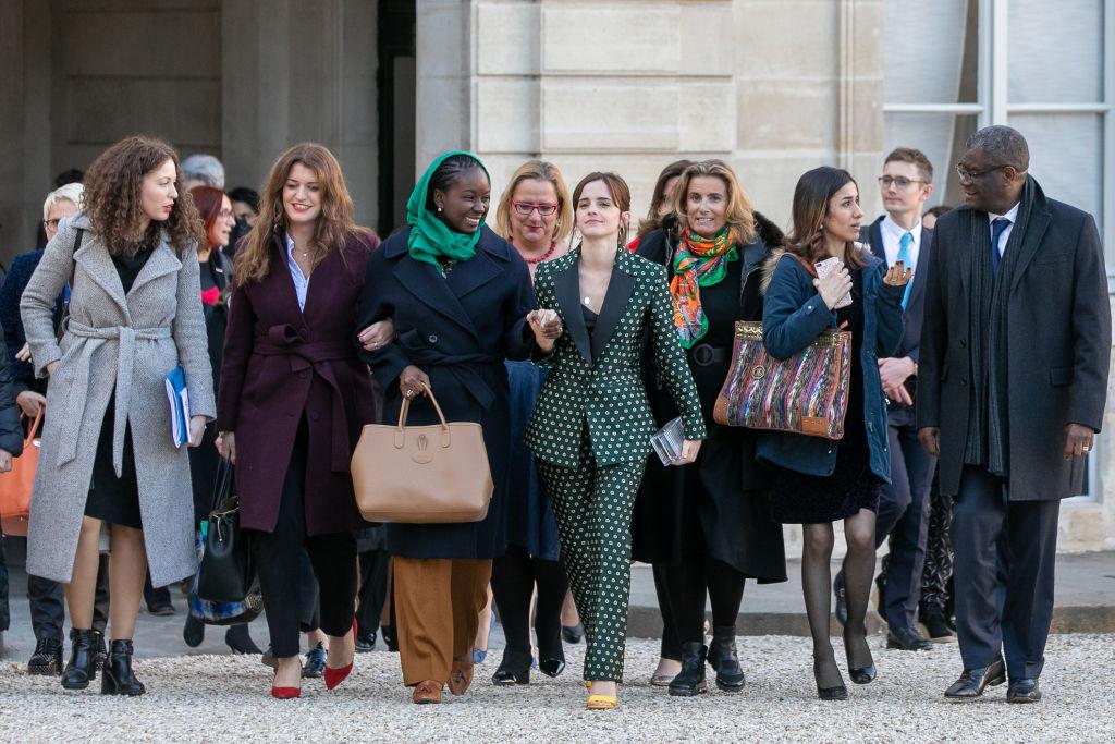 Эмма Уотсон посетила заседание G7 по вопросам гендерного равенства-Фото 1