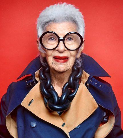 97-летняя Айрис Апфель подписала контракт с известным модельным агентством-430x480