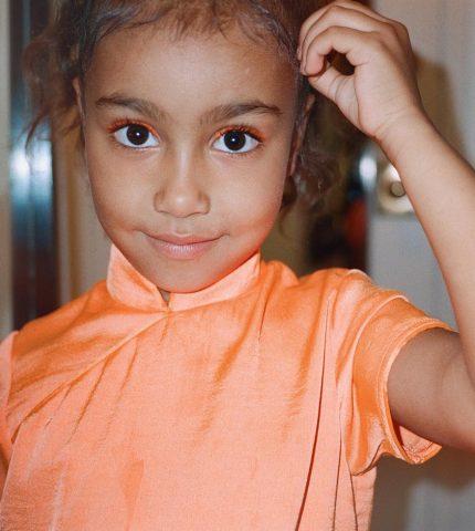 5-летняя дочь Ким Кардашьян и Канье Уэста снялась в YouTube-шоу-430x480