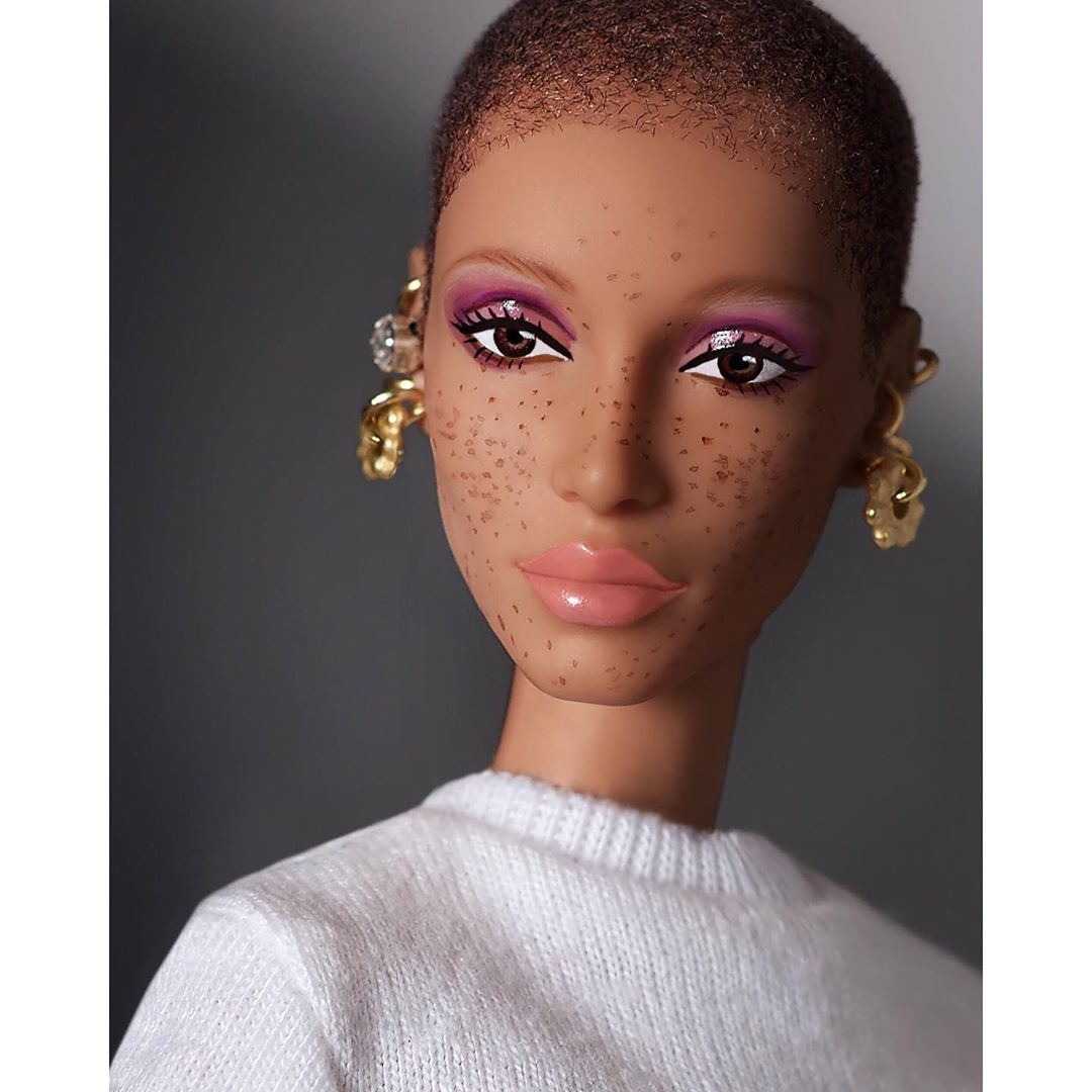 Mattel выпустил куклу Барби по подобию модели Адвоа Абоа-Фото 4