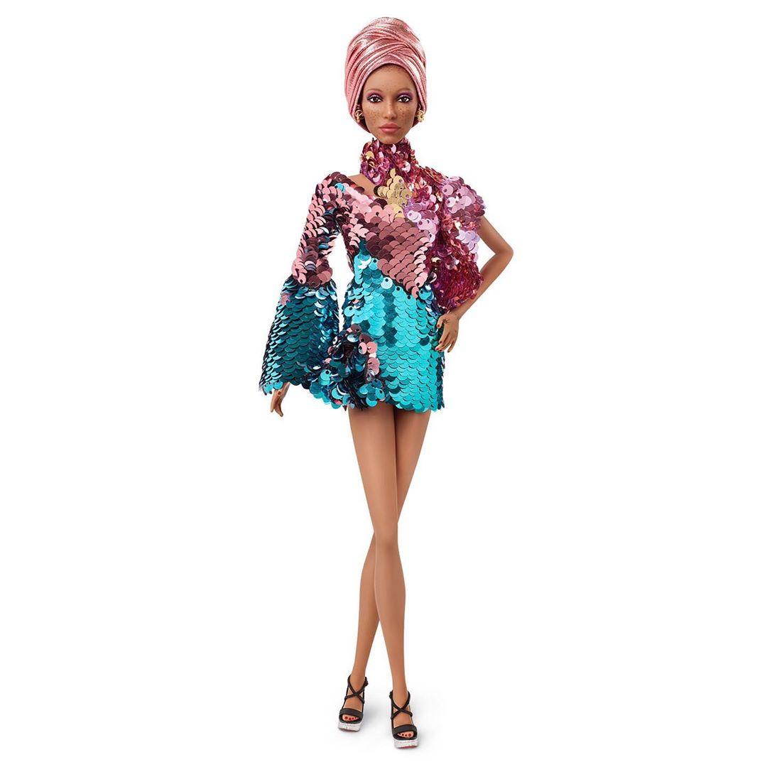 Mattel выпустил куклу Барби по подобию модели Адвоа Абоа-Фото 3