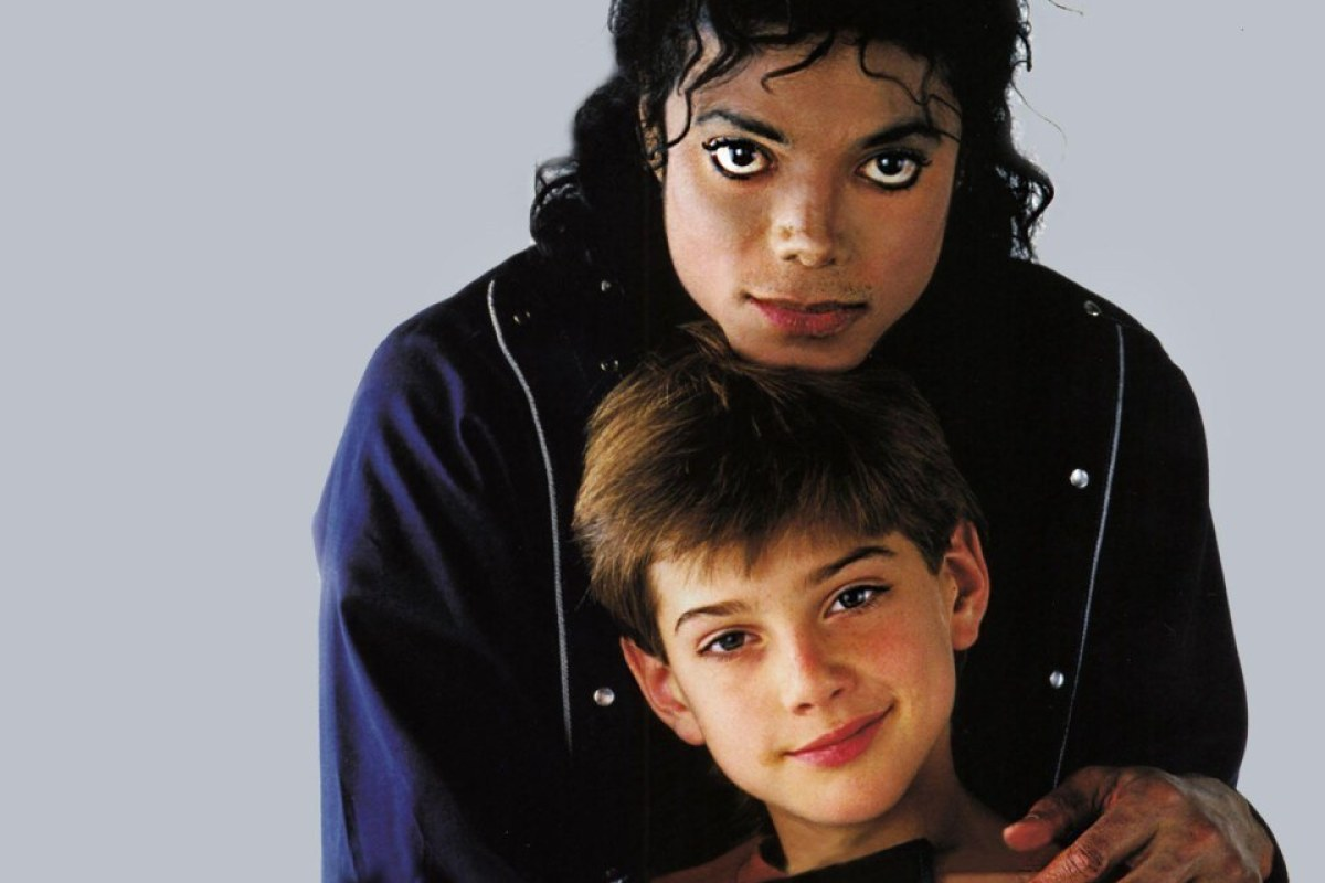 Майкл Джексон и Джеймс Сэйфчак фото