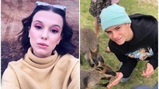 16-летний Ромео Бекхэм встречается с Милли  Бобби Браун-320x180