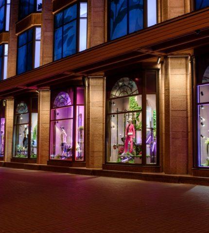 Весеннее вдохновение: Киевский ЦУМ представил новые витрины-430x480