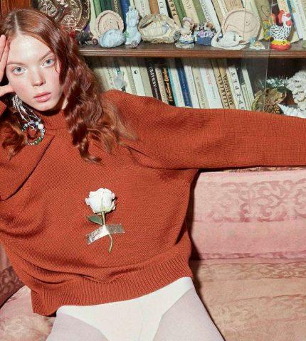 Как выглядит коллекция свитеров CHUYKO для дерзких и мечтательных-430x480