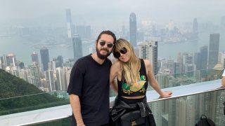 Хайди Клум и Том Каулитц отдыхают в Гонконге перед свадьбой-320x180