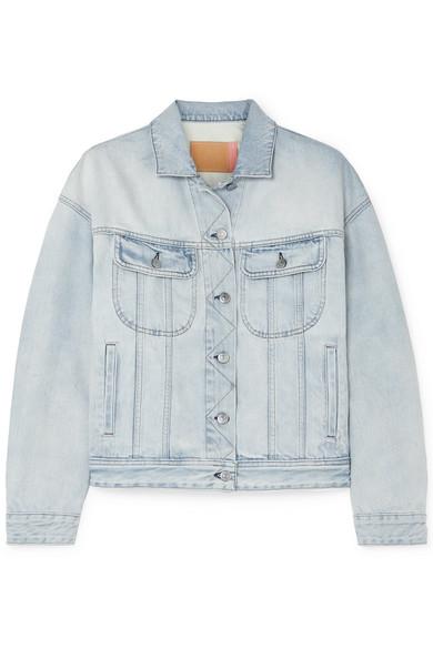 джинсовая куртка короткая ACNE STUDIOS