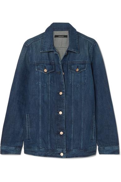 джинсовая куртка длинная J BRAND