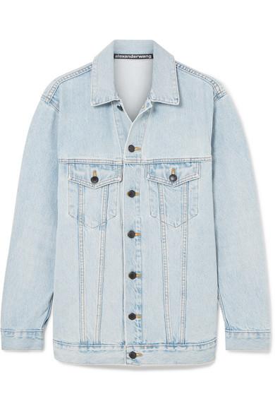 модные джинсовые куртки женские весна 2019 - ALEXANDER WANG