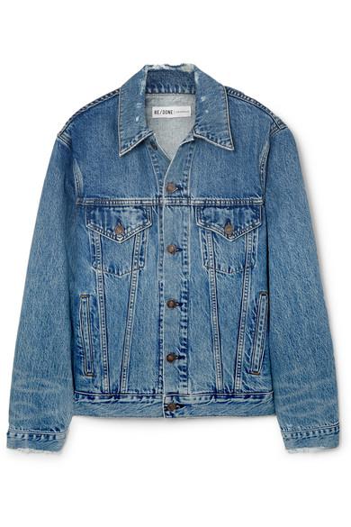 джинсовая куртка женская RE/DONE