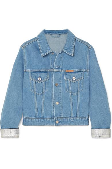куртки джинсовые PACO RABANNE