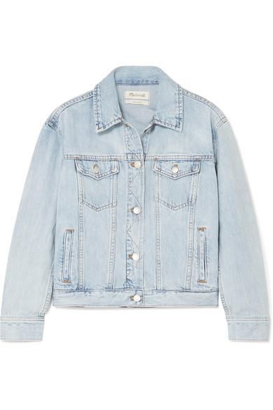 с чем носить джинсовую куртку оверсайз MADEWELL