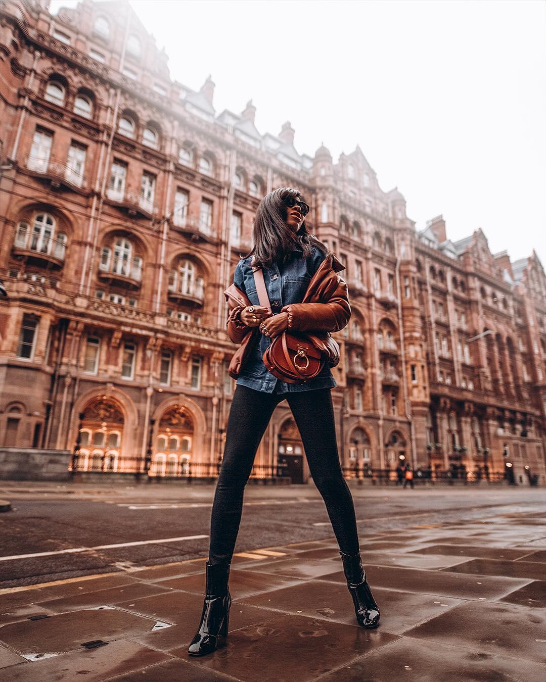 модные джинсовые куртки - фото 7