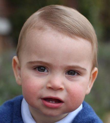 Кейт Миддлтон показала фото принца Луи-430x480