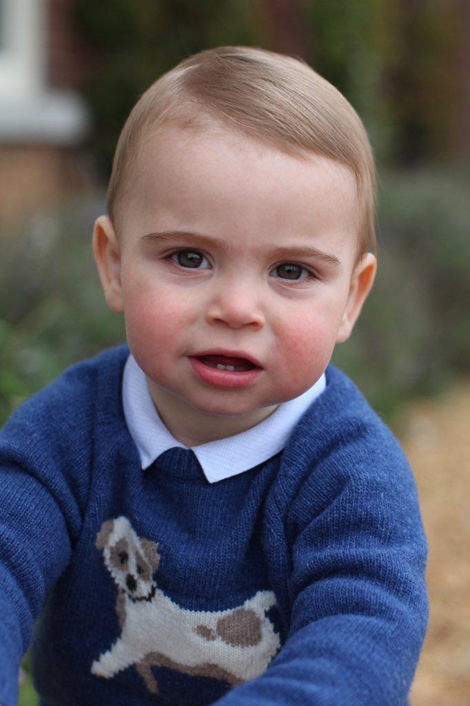 Кейт Миддлтон показала фото принца Луи-Фото 2
