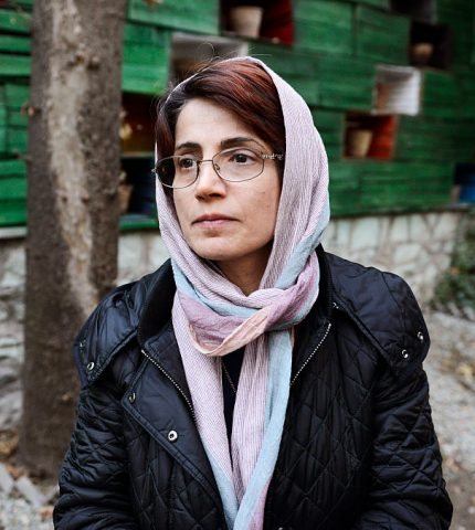 Освободите Насрин Сотуде: Marie Claire по всему миру призывают к справедливости-430x480
