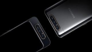 Samsung представляет Galaxy A80 с поворотной камерой-320x180