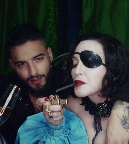 Мадонна выпустила «свадебный» клип с Maluma-430x480