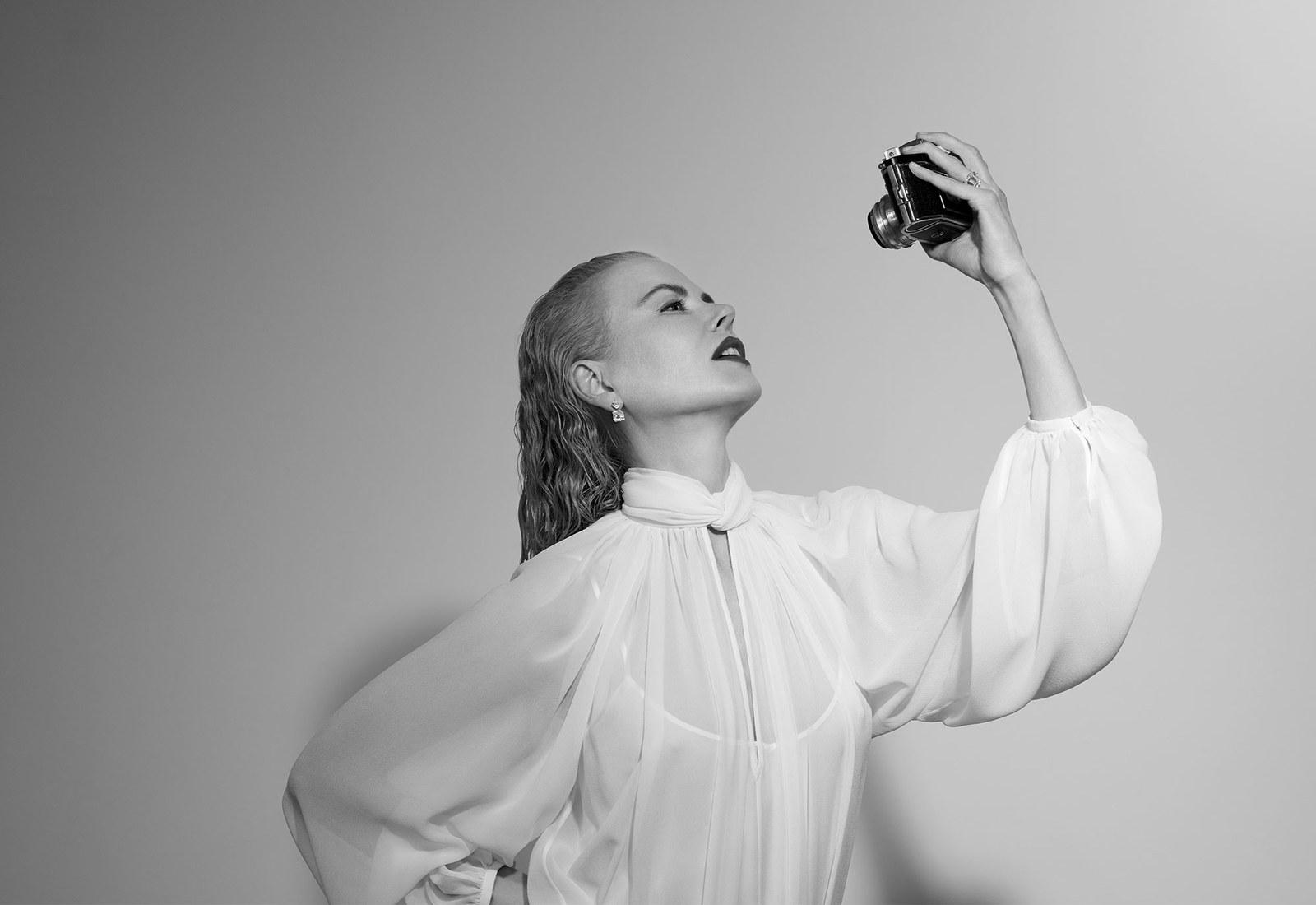 Как выглядит Николь Кидман с короткой стрижкой-Фото 5