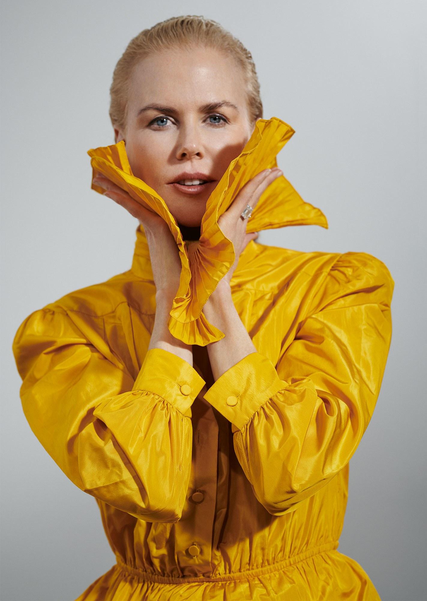 Как выглядит Николь Кидман с короткой стрижкой-Фото 7