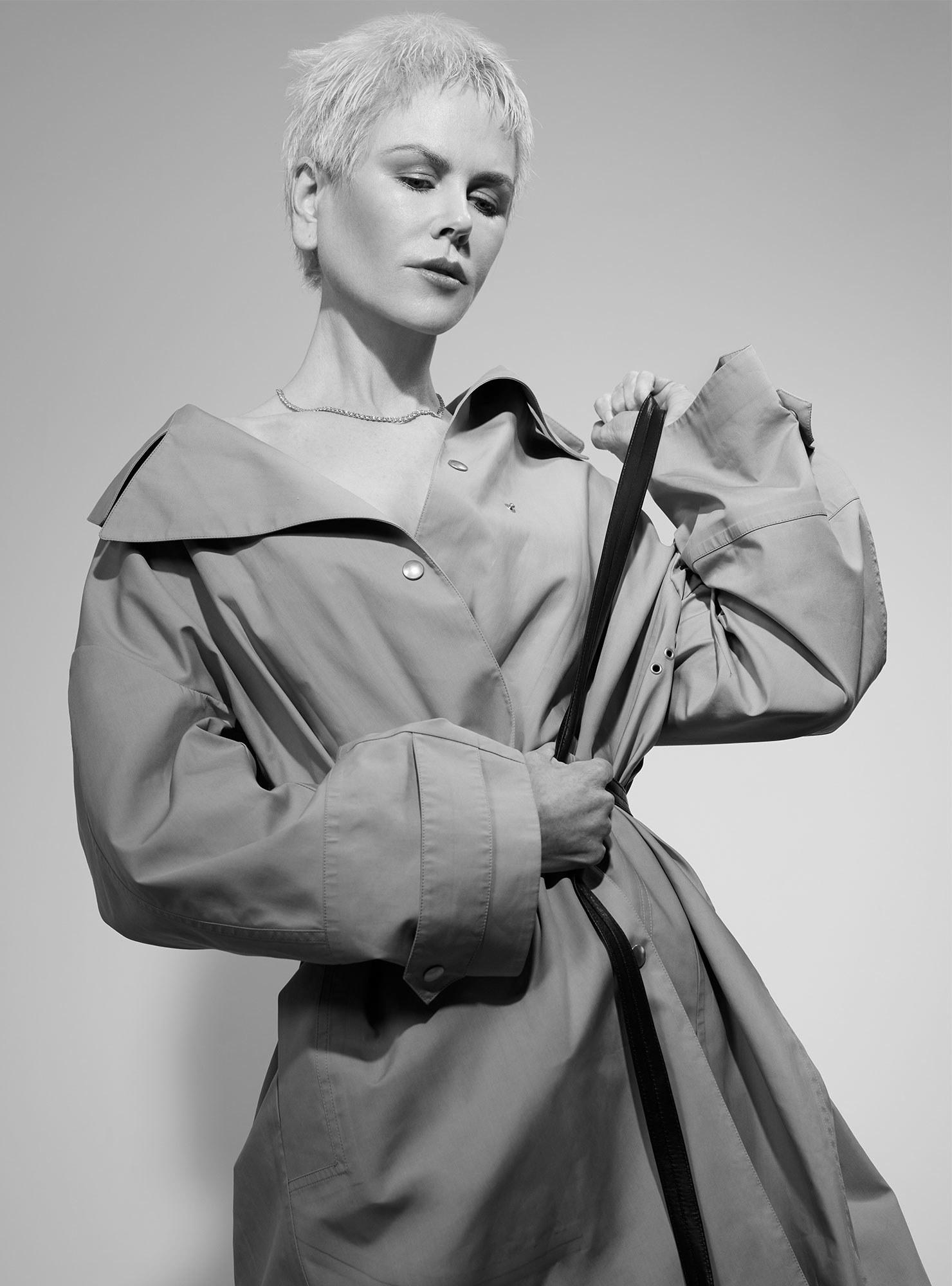 Как выглядит Николь Кидман с короткой стрижкой-Фото 9