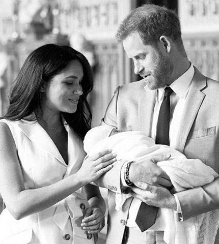 Как Меган Маркл и принц Гарри назвали ребенка-430x480