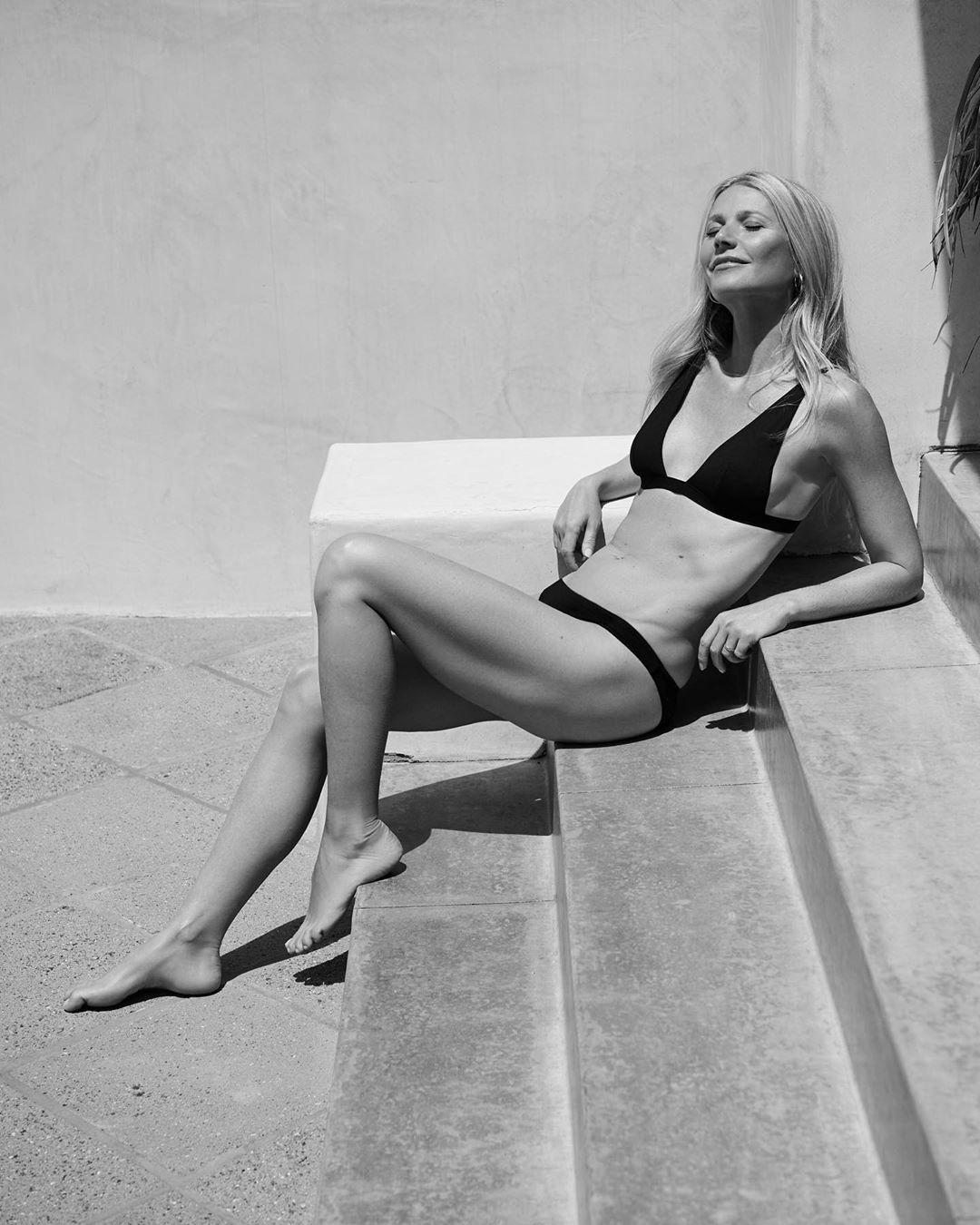 Гвинет Пэлтроу показала фигуру в новой рекламной кампании купальников-Фото 1