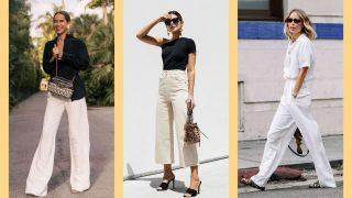 Как носить светлые брюки-320x180