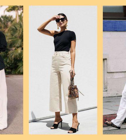 Как носить светлые брюки-430x480