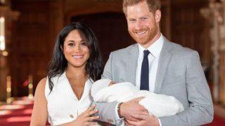 Меган Маркл и принц Гарри показали малыша-320x180