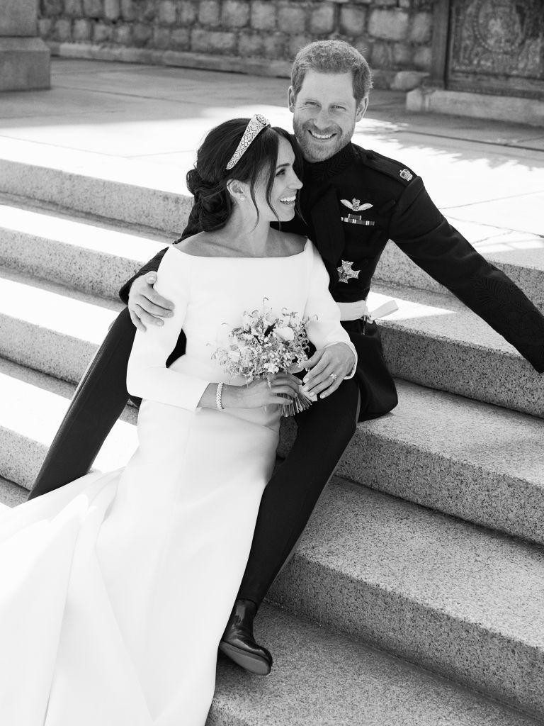 В Сети появились новые снимки со свадьбы герцога и герцогини Сассекских-Фото 1
