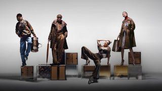 Многоликость: Джиджи Хадид в новой рекламной кампании Burberry-320x180