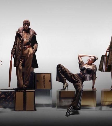 Многоликость: Джиджи Хадид в новой рекламной кампании Burberry-430x480