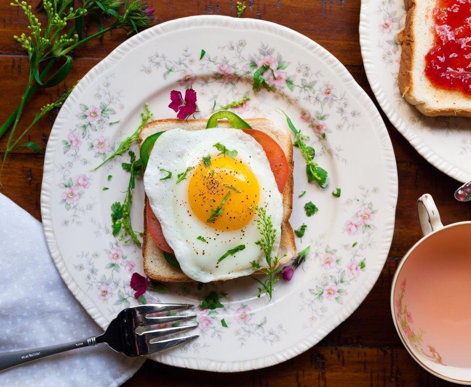 яйца сжигают жир