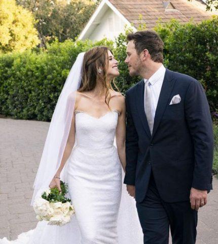 Крис Пратт и Кэтрин Шварценеггер сыграли тайную свадьбу-430x480
