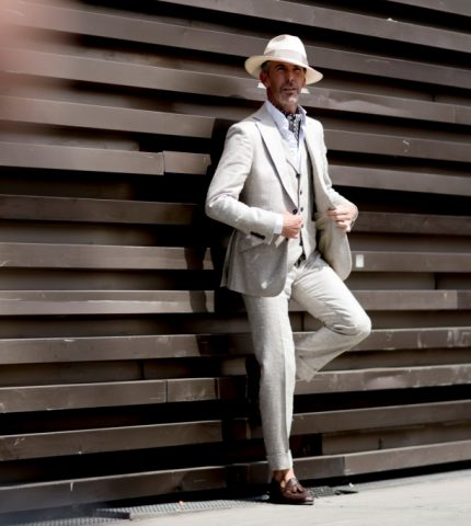 Уличная мода Pitti Uomo Spring 2020: самые стильные образы гостей-430x480