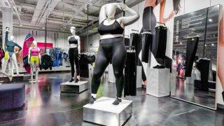 В магазинах Nike появились манекены больших размеров-320x180